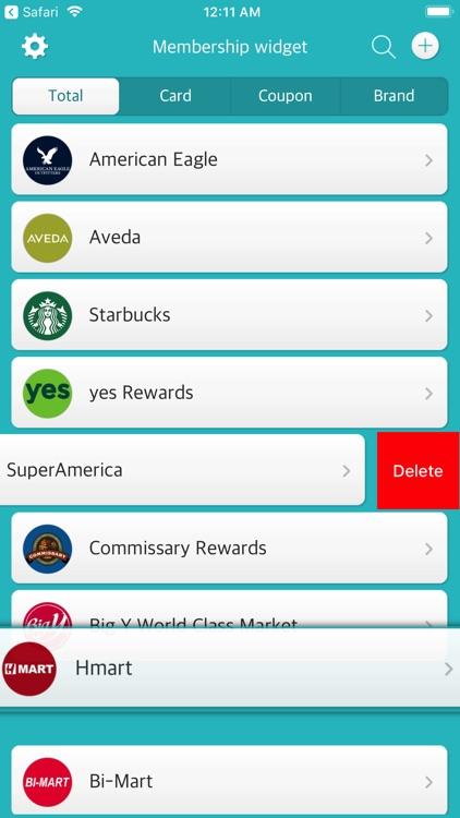 Membership widget screenshot-3