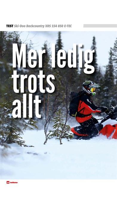 Tidningen SnöskoterScreenshot of 7