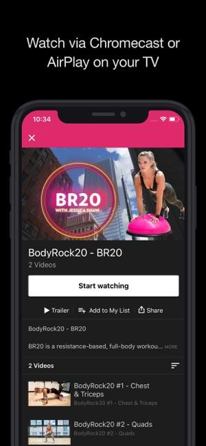 SweatFlix on the App Store