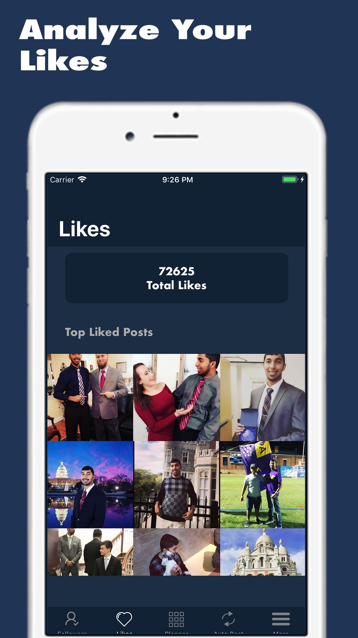 Analytic for Instagram Screenshot