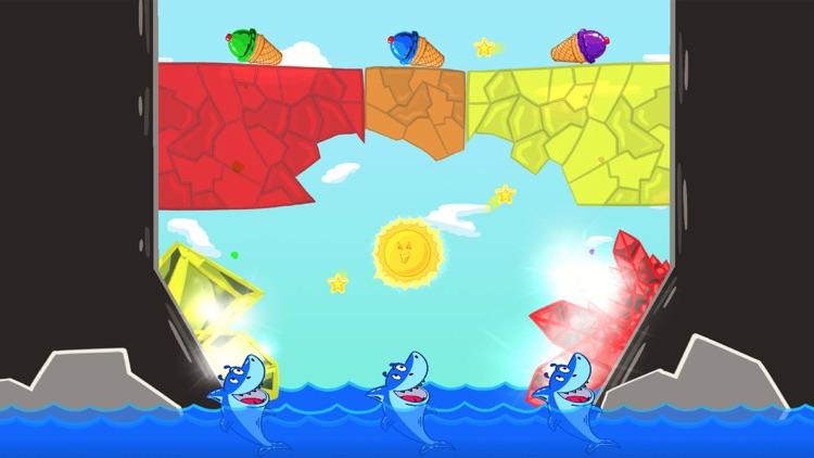 Ice Cream Mixer: Shark Games L screenshot-7