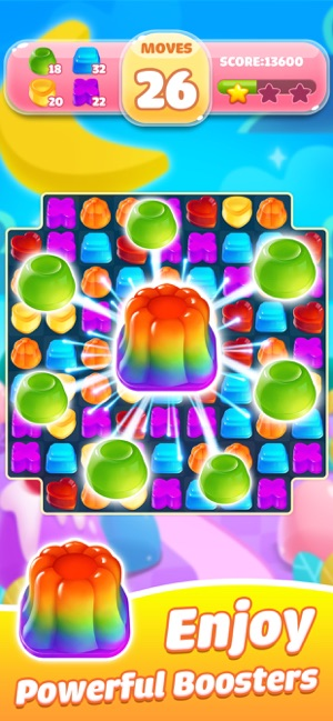 Jelly Jam Blast - Match 3 Game Screenshot