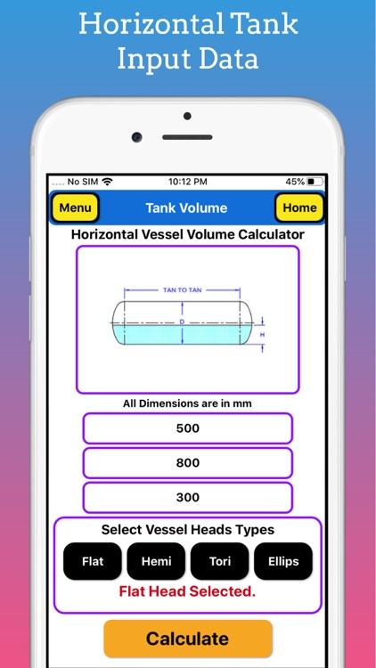 Tank Volume Calculator Pro screenshot-3