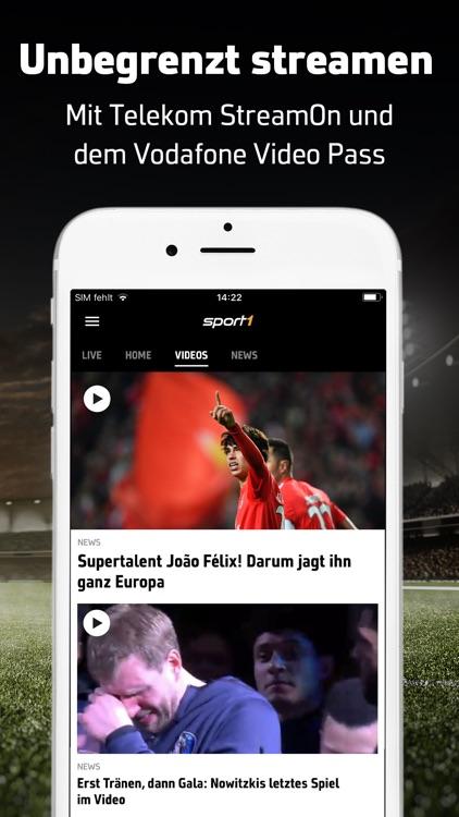 SPORT1: Sport & Fussball News screenshot-3