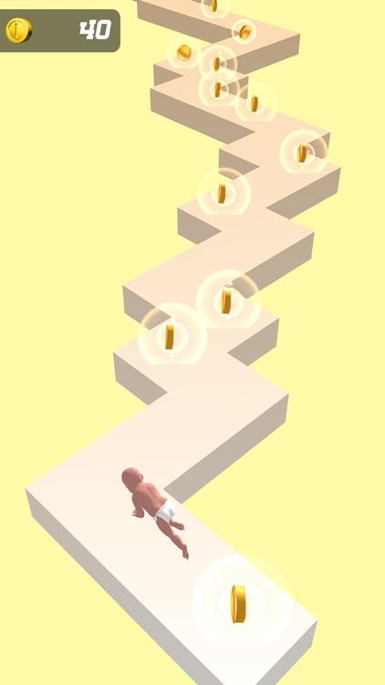 Baby Zigzag Run 3d screenshot-6