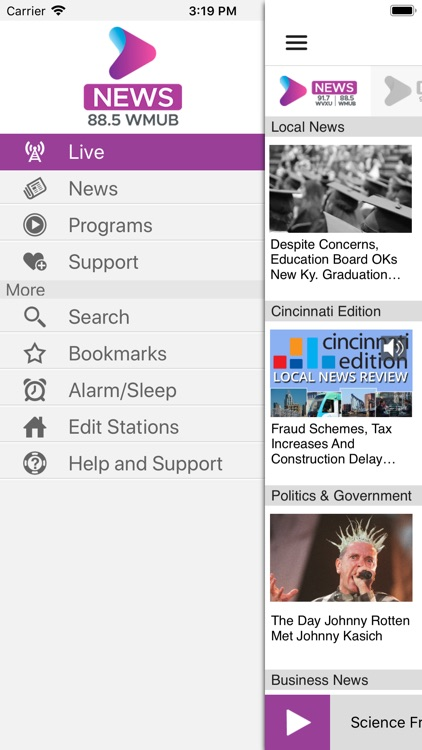 WMUB Public Radio App screenshot-2