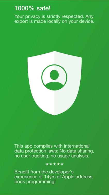 Export Contacts Pro screenshot-6