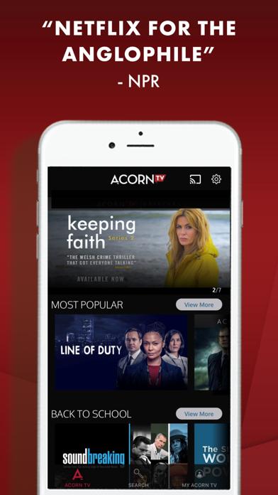 Acorn TV Screenshot