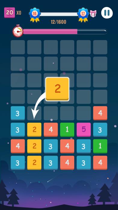 Number Blocks - Merge Puzzle screenshot 1