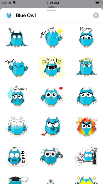 Blue - Owl screenshot 1