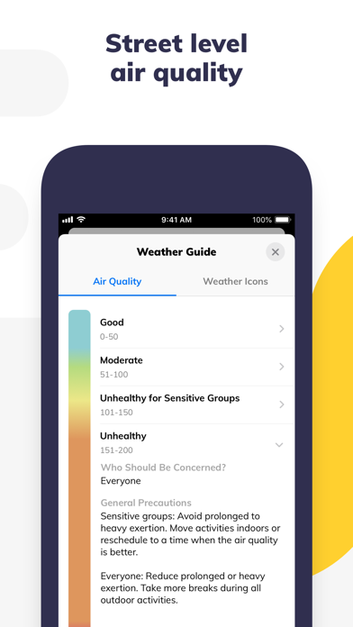 Climacell: Weather Assistant Screenshot