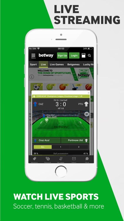 Betway - Sports Betting screenshot-7