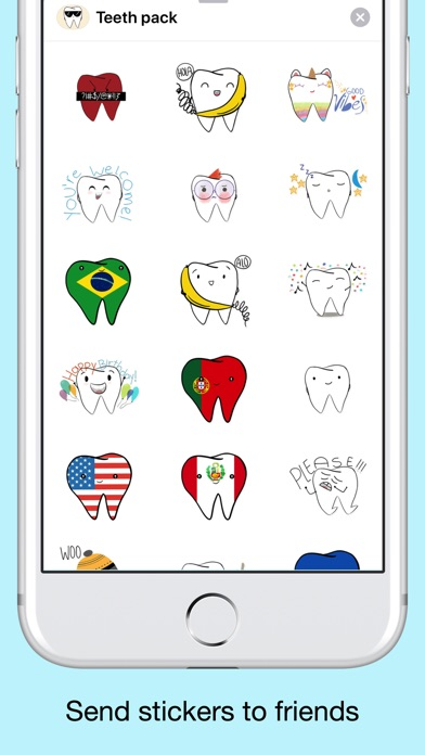 Teeth Emojis & Smiley stickers screenshot 4