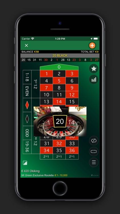 Mr Green Live Casino screenshot-4