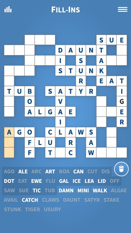 Fill Ins · Word Fit Puzzle screenshot-0