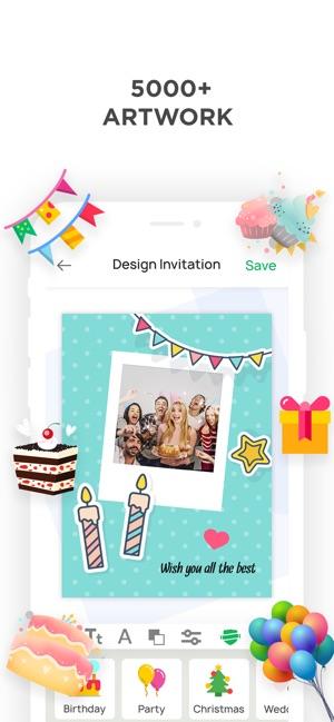 Invitation Maker Make Invites On The App Store