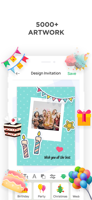 Invitation Maker Make Invites On The App Store