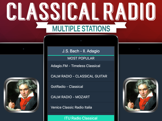 Classical Radio+ screenshot