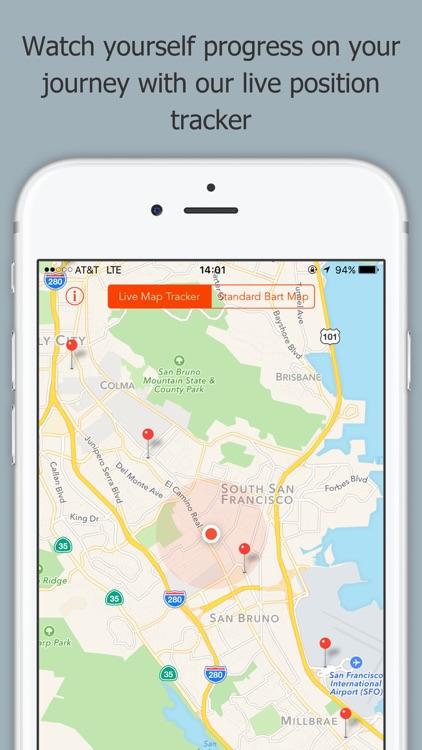 Train Stop - A BART App screenshot-3