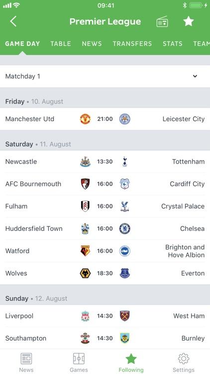 Onefootball - Soccer Scores screenshot-7