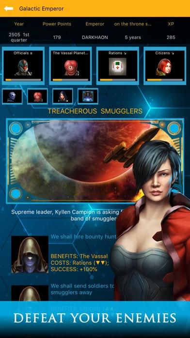Galactic Emperor: Strategy RPG screenshot 4