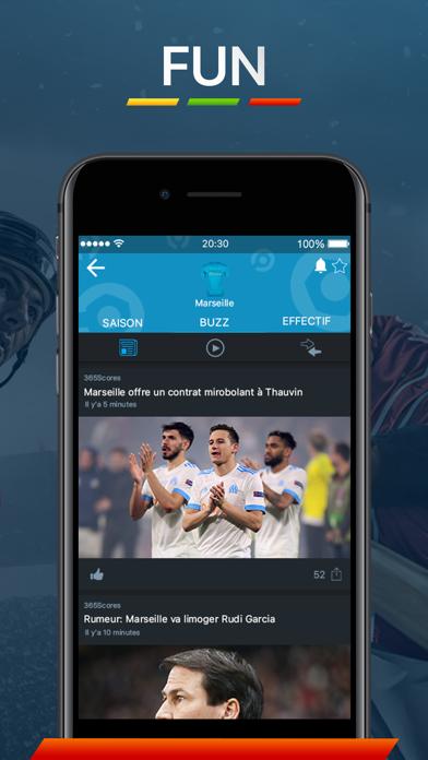 Screenshot for 365scores - Scores en Direct in Lebanon App Store