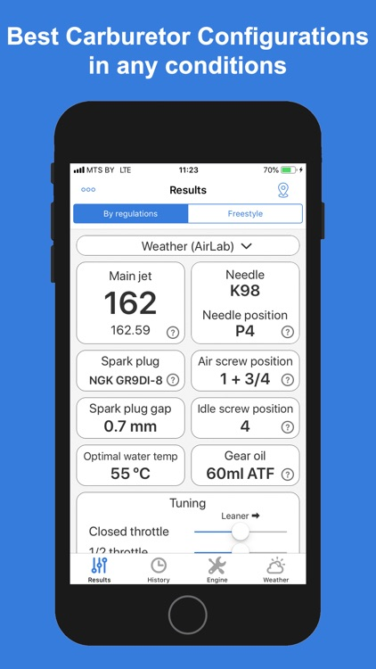 Jetting Rotax Max Kart screenshot-0