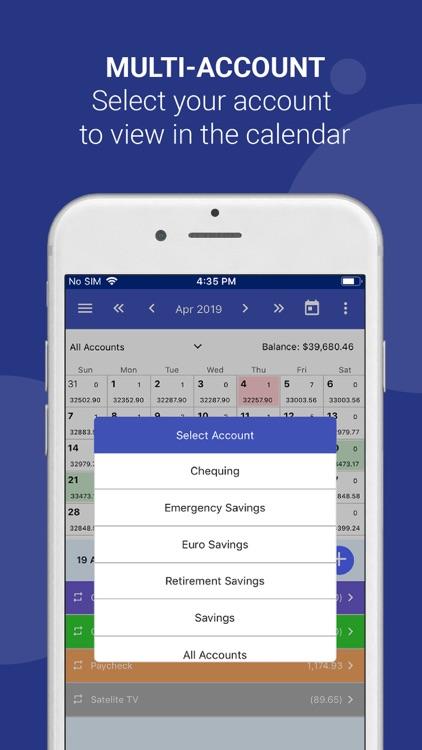CalendarBudget Money Manager screenshot-4