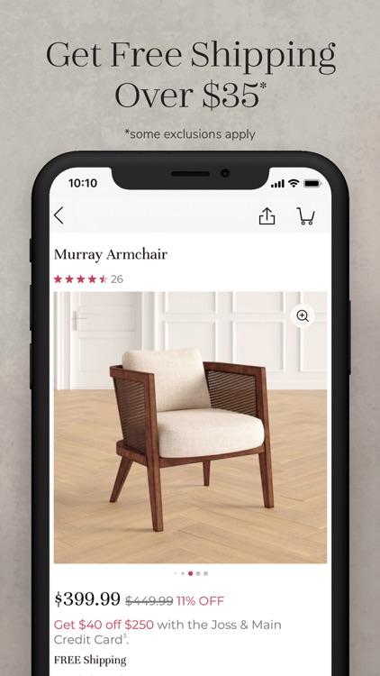 Joss & Main: Furniture & Decor screenshot-4