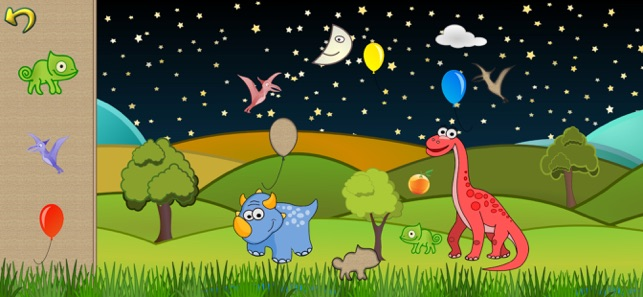 Dino Puzzle Dinosaur Kid Games Screenshot