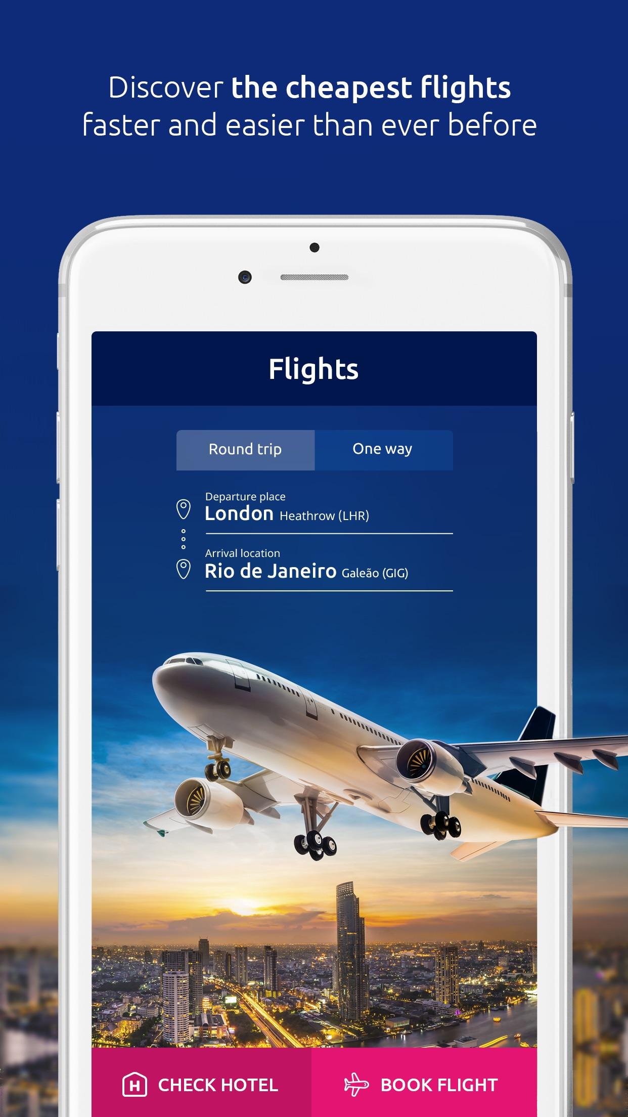 eSky - Flights, Hotels, Deals Screenshot