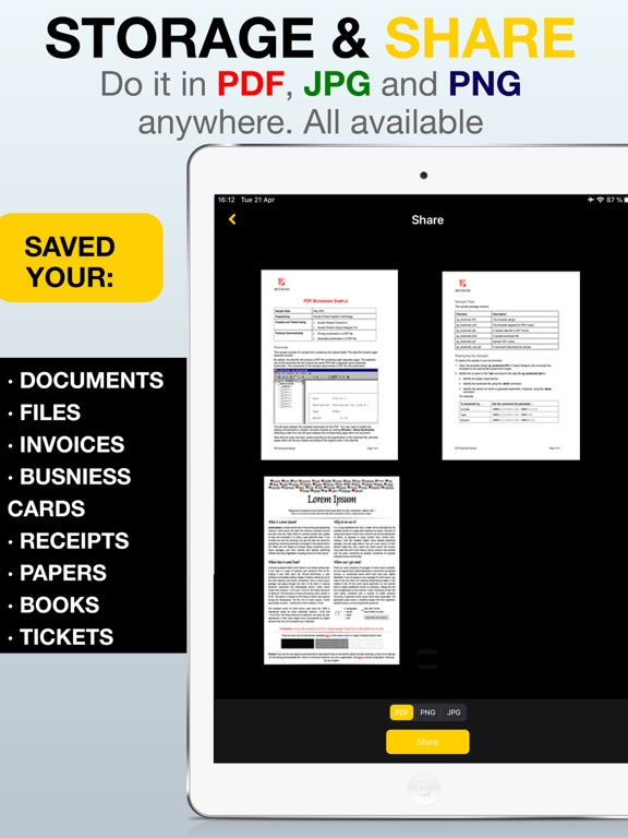 Scan Easy - PDF Scanner App screenshot 6