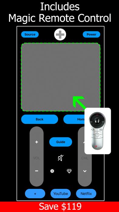 Remote TV for LG Smart screenshot 2