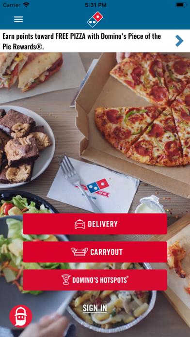 Dominos Pizza Usa review screenshots