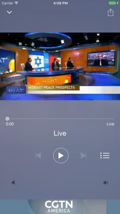 CGTN America screenshot two