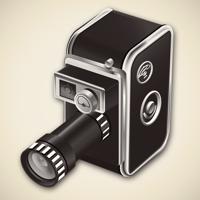 8mm Vintage Camera - NEXVIO INC. Cover Art