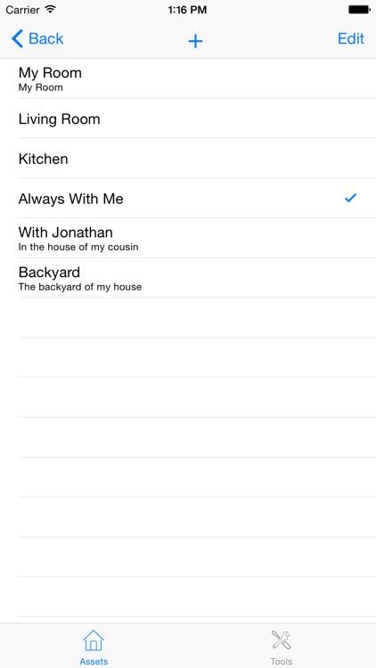 My Home Inventory database screenshot-4