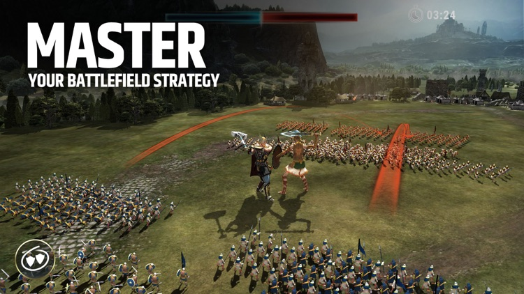 Dawn of Titans: Strategy Game screenshot-0
