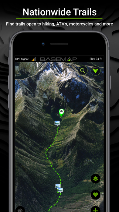 BaseMap: 3D Hunting GPS Maps Screenshot