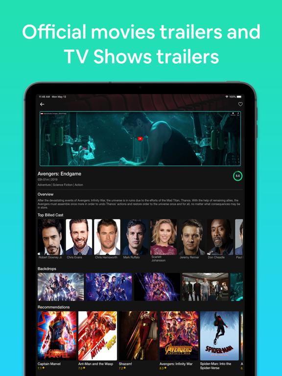 Show Box & TV Movie Hub Cinema screenshot