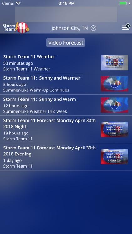 WJHL Weather App screenshot-4