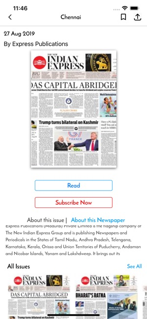 The New Indian Express Epaper on the App Store