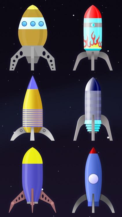 Tap Rocket - Galactic Frontier screenshot-3