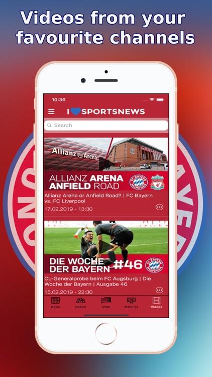 Sports News - FC Bayern ed. screenshot-9