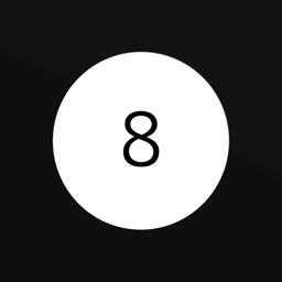 Ícone do app Modern Magic 8 Ball