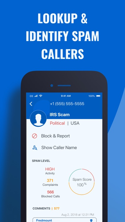 Call Control: #1 Call Blocker screenshot-4