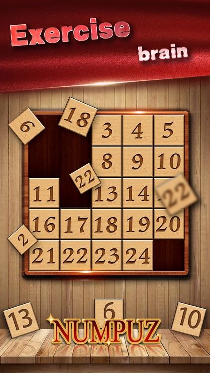 Numpuz:Classic Number Game screenshot-7