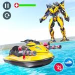 Jet Ski Robots War Submarine