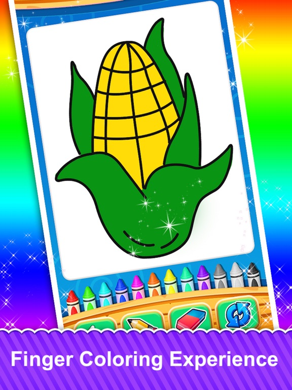 Fruits and Vegetable Coloring screenshot 7