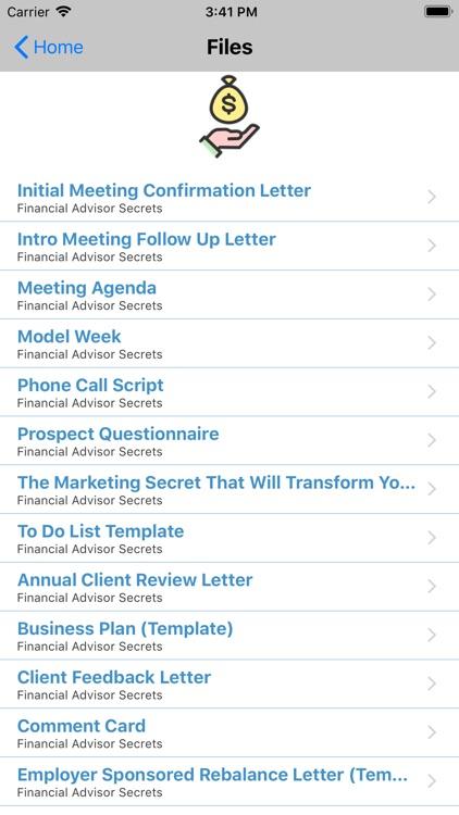 Financial Advisor Study App screenshot-4